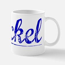 Bickel, Blue, Aged Mug