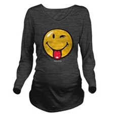 Smileyworld Playful Long Sleeve Maternity T-Shirt