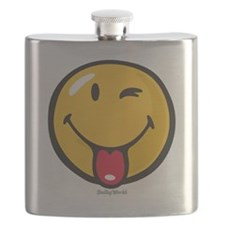 Smileyworld Playful Flask