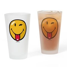 Smileyworld Playful Drinking Glass