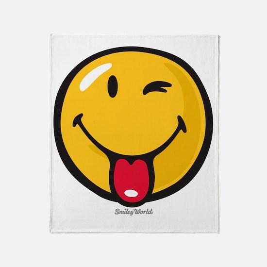 Smileyworld Playful Throw Blanket