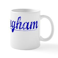 Birmingham, Blue, Aged Small Mug