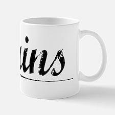 Mains, Vintage Mug