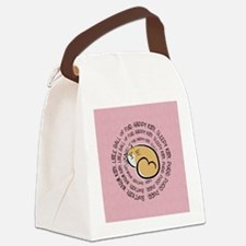 Sing Soft Kitty Canvas Lunch Bag