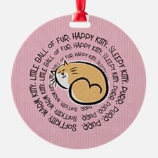Sing Soft Kitty Ornament