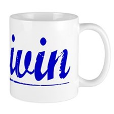 Boivin, Blue, Aged Mug