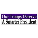 Our Troops Deserve a Smarter President
