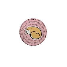 Sing Soft Kitty Mini Button