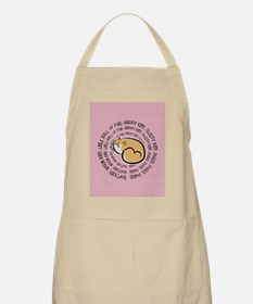 Sing Soft Kitty Apron