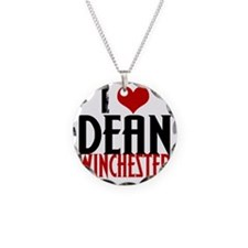 I Heart Dean Winchester Necklace