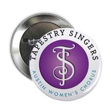 """Tapestry Singers Circle Logo 2.25"""" Button"""