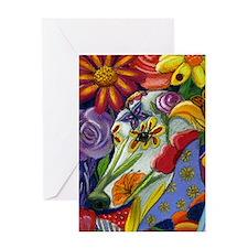 Flora Pastel Greeting Card