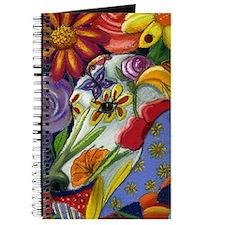 Flora Pastel Journal