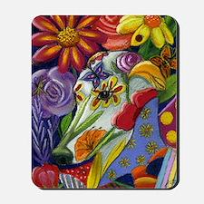 Flora Pastel Mousepad