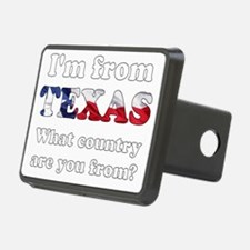 Im from Texas Hitch Cover