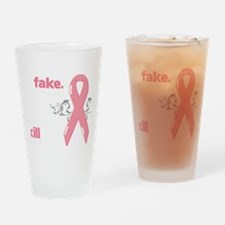 yes, theyre fake Drinking Glass