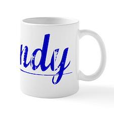 Brandy, Blue, Aged Mug