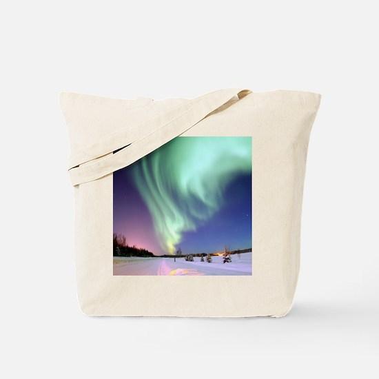 Alaska Aurora Tote Bag
