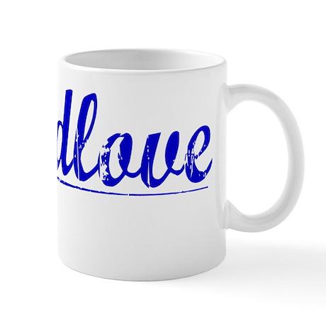 Breedlove, Blue, Aged Mug
