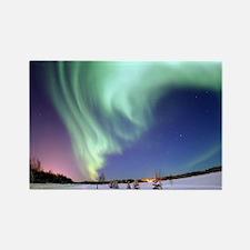 Alaska Aurora Rectangle Magnet
