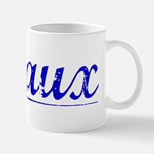Breaux, Blue, Aged Mug