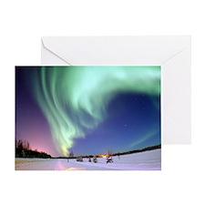 Alaska Aurora Greeting Card
