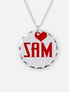 I Love Sam Winchester Necklace