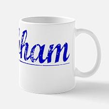 Brabham, Blue, Aged Mug