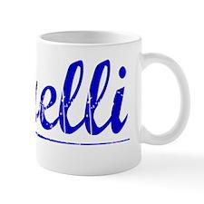 Borelli, Blue, Aged Mug