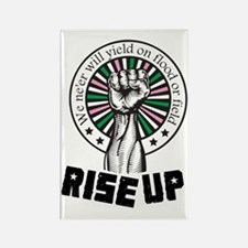 Rise Up II Rectangle Magnet