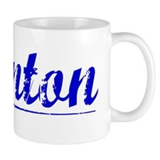 Brenton, Blue, Aged Mug