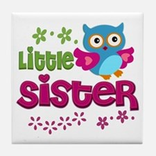 Little Sister Tile Coaster