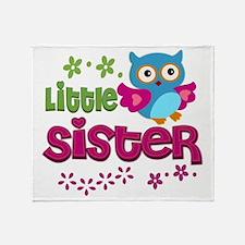 Little Sister Throw Blanket