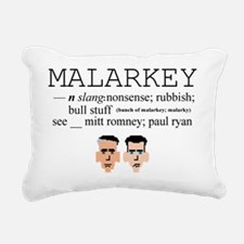 Malarkey Rectangular Canvas Pillow
