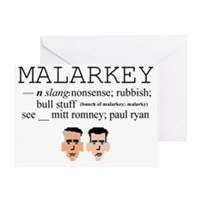 Malarkey Greeting Card