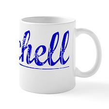 Burchell, Blue, Aged Mug