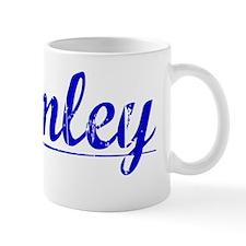 Bromley, Blue, Aged Mug