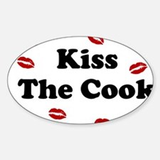 kiss The cook Decal
