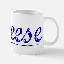 Breese, Blue, Aged Mug