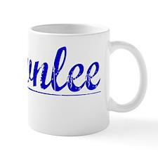 Brownlee, Blue, Aged Mug