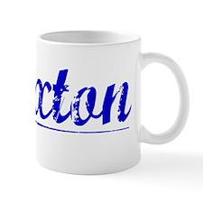 Braxton, Blue, Aged Mug