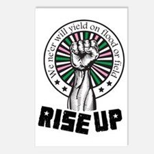 Rise Up Postcards (Package of 8)