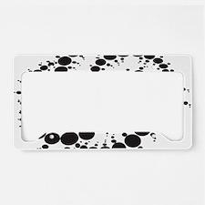 Crop Circles Consciousness License Plate Holder