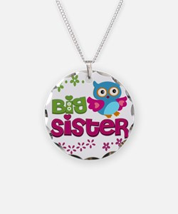 Cute Owl Big Sister Necklace