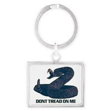 Dont Tread On Me, Tea Party Upd Landscape Keychain