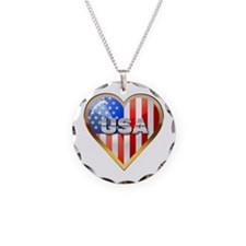US Heart - Glow Necklace