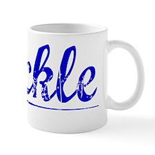 Buckle, Blue, Aged Mug