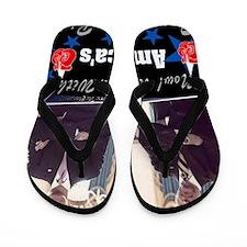 AMERICASTEAMOBAMA-BIDEN Flip Flops