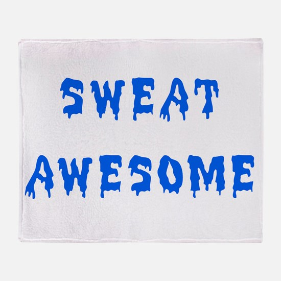Awesome Sweat Throw Blanket