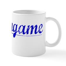 Burlingame, Blue, Aged Mug